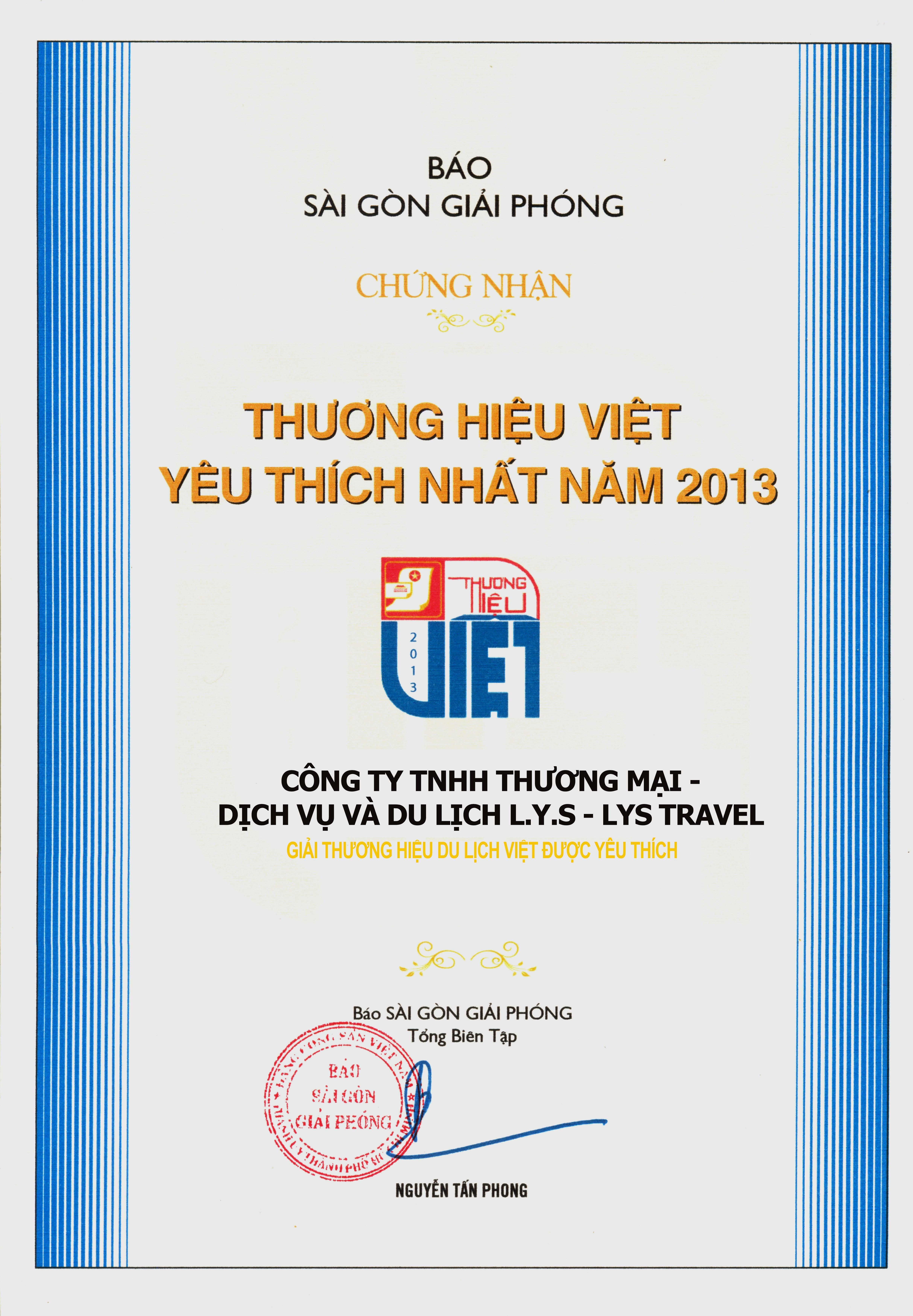 THuongHieuViet2013