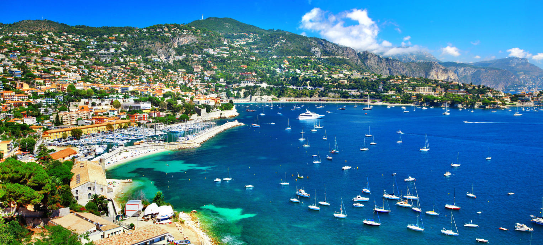 Azure coast of France