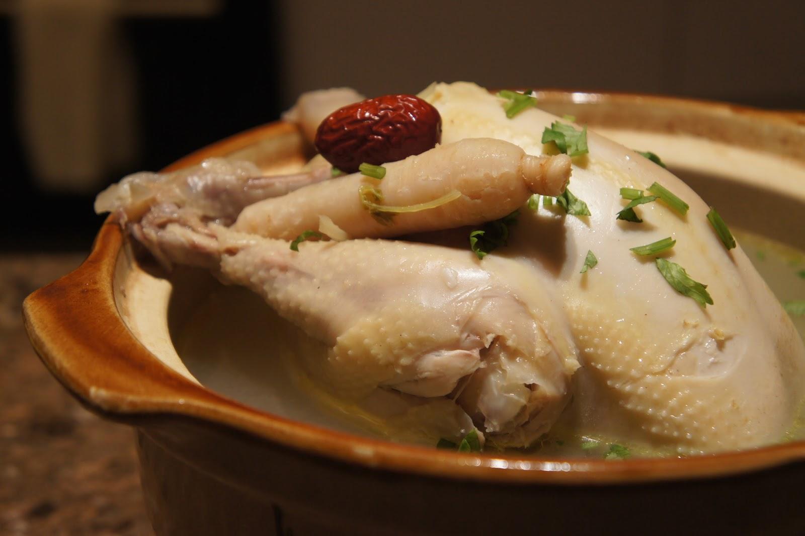Samgyetang( ginseng chicken soup)