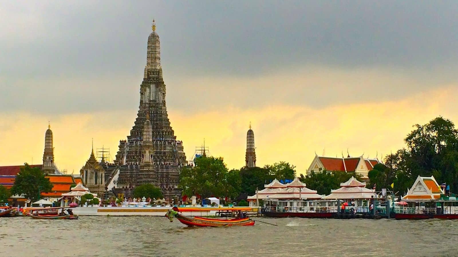 sông Chao Phraya Thái Lan