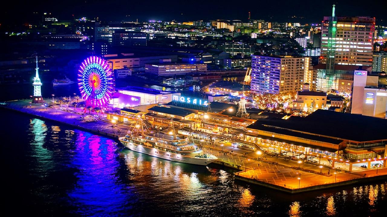 khu-mua-sam-Harborland-Kobe