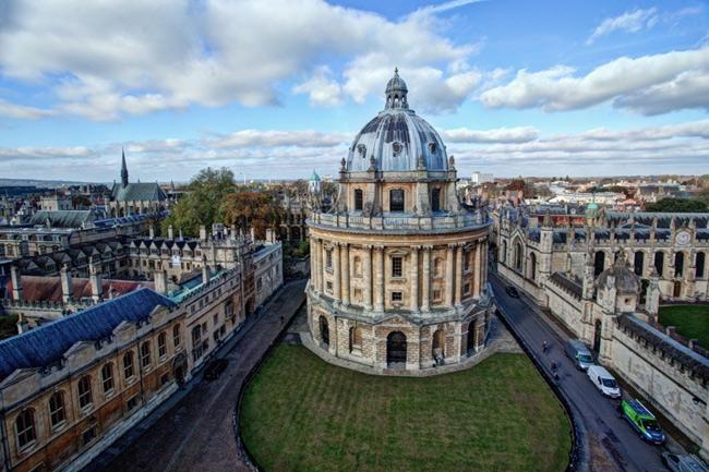 Đại học Oxford với lối kiến trúc độc đáo